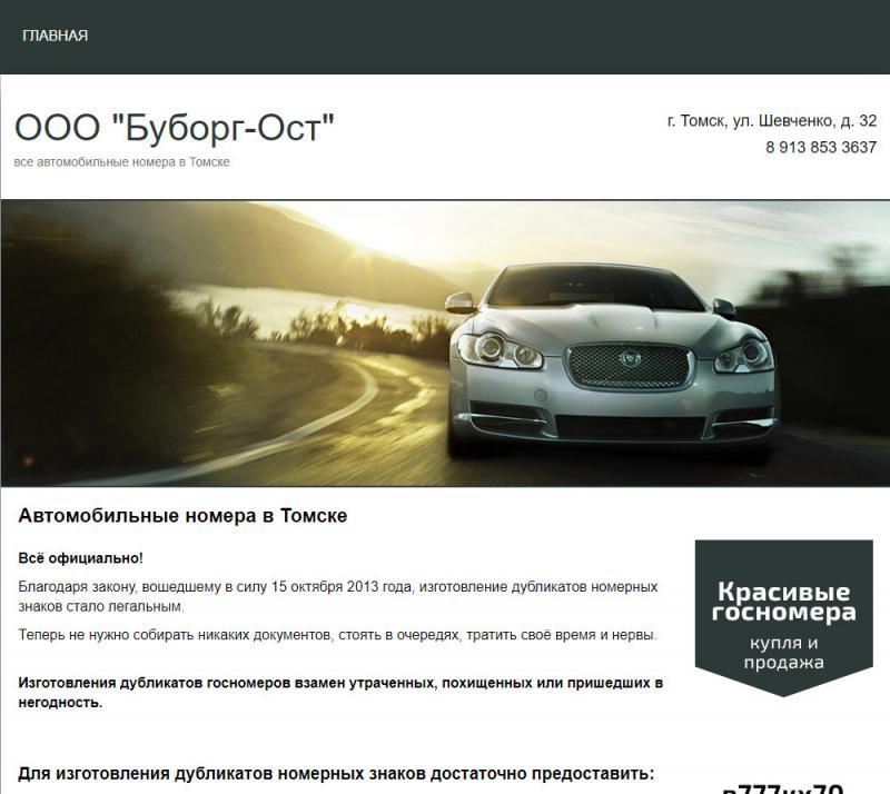 Госномера (сайт)