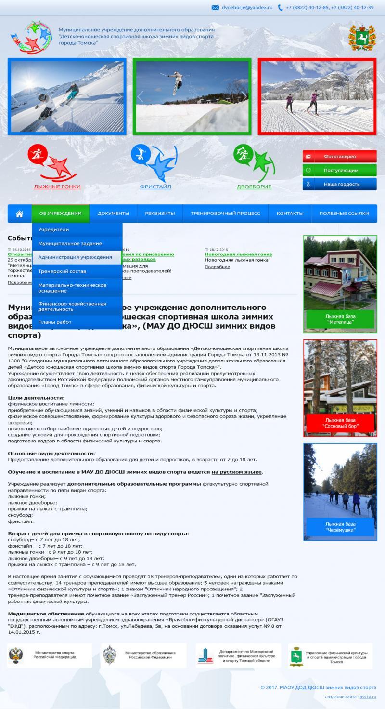 ДЮСШЗВС (сайт)